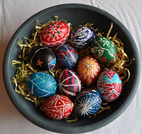 Ukrainian-Egg-Decorating,-Part-I