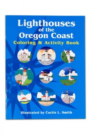 Lighthouses of the Oregon Coast Coloring Book (book-1)