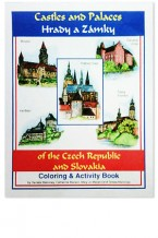 Castles and Palaces of the Czech Republic and Slovakia Coloring & Activity Book