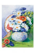 Flowers in a vase (gc-032)