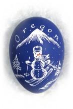Snowman skier (or-7)