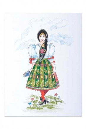 Girl from Chodsko (pc-002)
