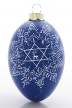 Star of David with a Deer (st-16c)