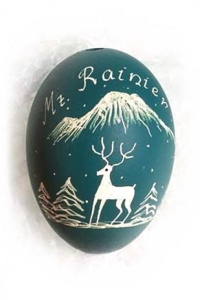 Mt Rainier/deer (wa-3)